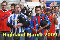 Highland March 2009